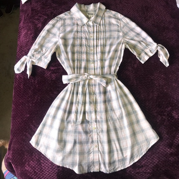 Converse Dresses & Skirts - Converse One Star Plaid Casual Dress